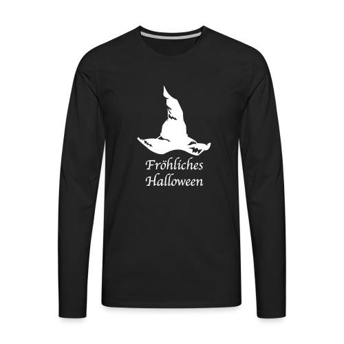Fröhliches Halloween - Männer Premium Langarmshirt