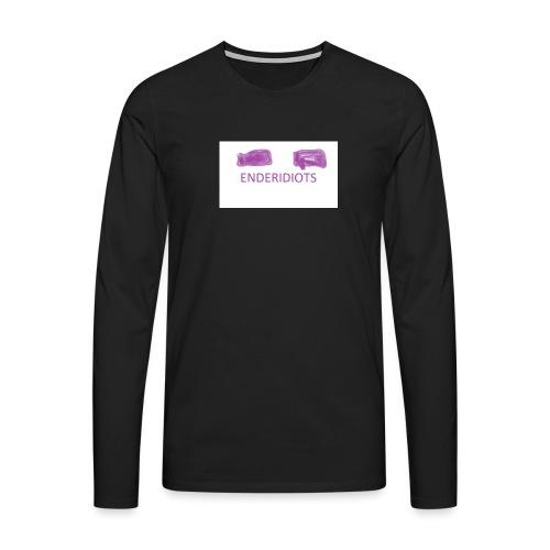 enderproductions enderidiots design - Men's Premium Longsleeve Shirt
