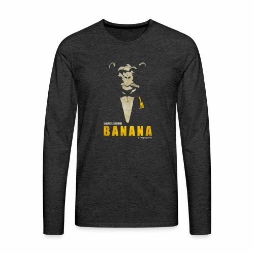 A Propaganda (transparent) - T-shirt manches longues Premium Homme