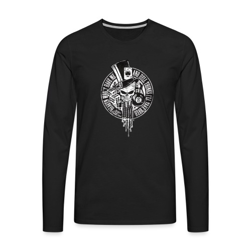 Kabes Heaven & Hell T-Shirt - Men's Premium Longsleeve Shirt