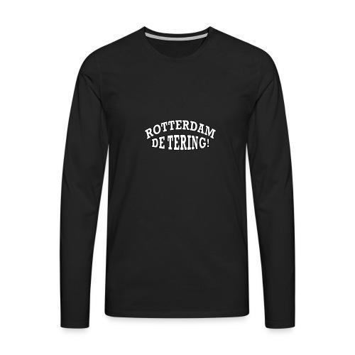 Rotterdam - De Tering! - Mannen Premium shirt met lange mouwen