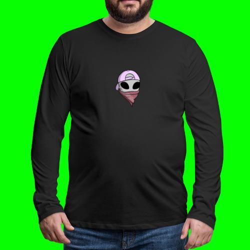 gangsta alien logo - Maglietta Premium a manica lunga da uomo