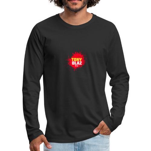 Marca Tony Olaz dj - Camiseta de manga larga premium hombre