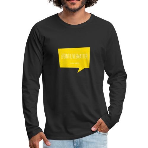 Sinti Lives Matter - Men's Premium Longsleeve Shirt