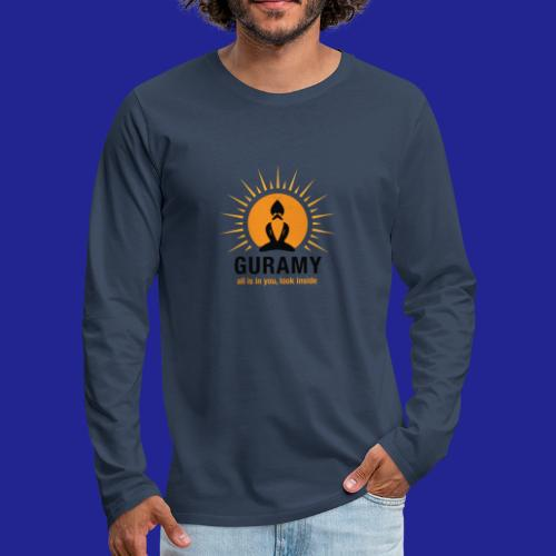 final nero con scritta - Men's Premium Longsleeve Shirt