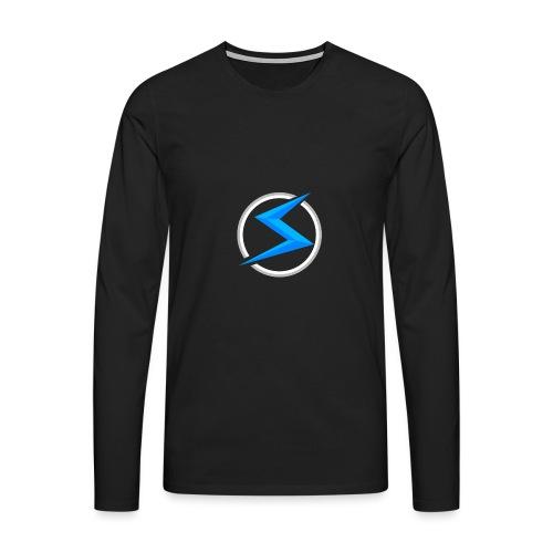 #1 model - Mannen Premium shirt met lange mouwen