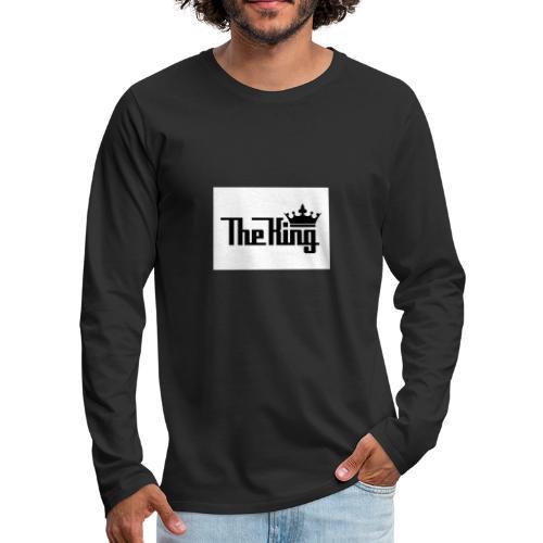 TheKing - Männer Premium Langarmshirt