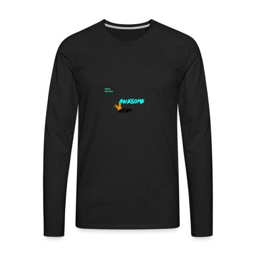 king awesome - Men's Premium Longsleeve Shirt