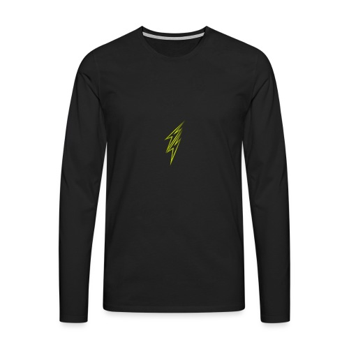 fulmine - Maglietta Premium a manica lunga da uomo