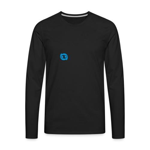Justlo Smiley - Männer Premium Langarmshirt