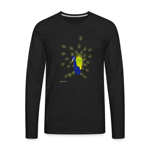 BEPROUD.png - Mannen Premium shirt met lange mouwen