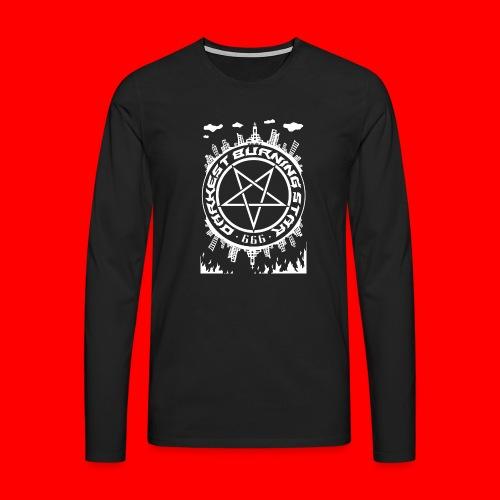 Darkest Burning Star - Men's Premium Longsleeve Shirt