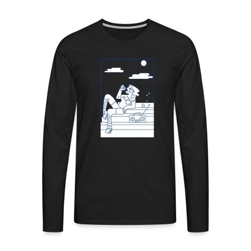 Hot summer - T-shirt manches longues Premium Homme