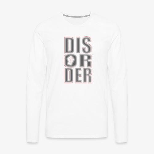 Disorder Logo - Männer Premium Langarmshirt
