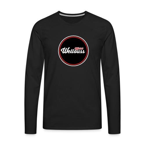 Wellouss Fan T-shirt   Rood - Mannen Premium shirt met lange mouwen
