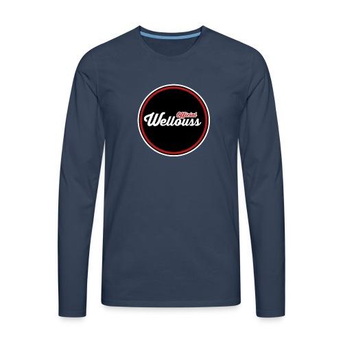 Wellouss Fan T-shirt | Rood - Mannen Premium shirt met lange mouwen