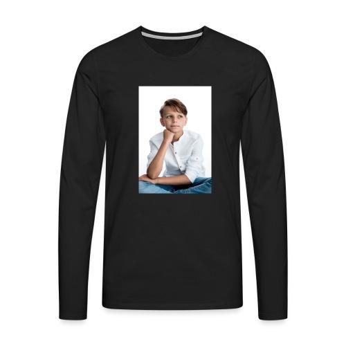 Sjonny - Mannen Premium shirt met lange mouwen