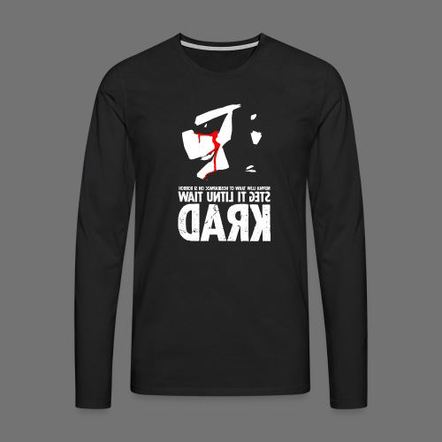 horrorcontest sixnineline - Koszulka męska Premium z długim rękawem