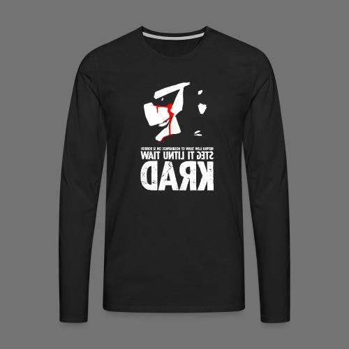 horrorcontest sixnineline - Miesten premium pitkähihainen t-paita