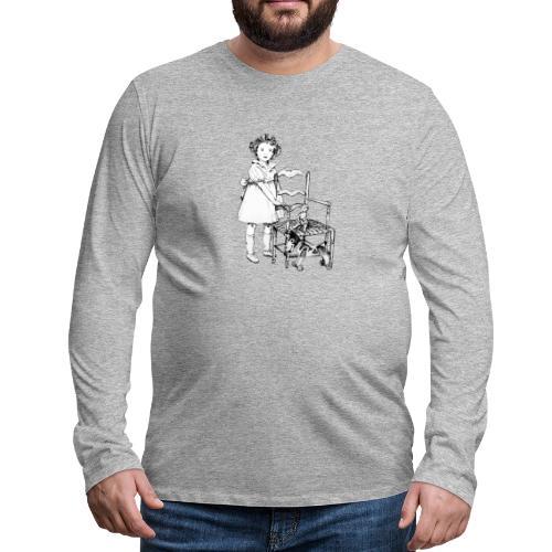 Nelly et sa chaise - T-shirt manches longues Premium Homme