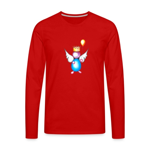 Mettalic Angel happiness - T-shirt manches longues Premium Homme