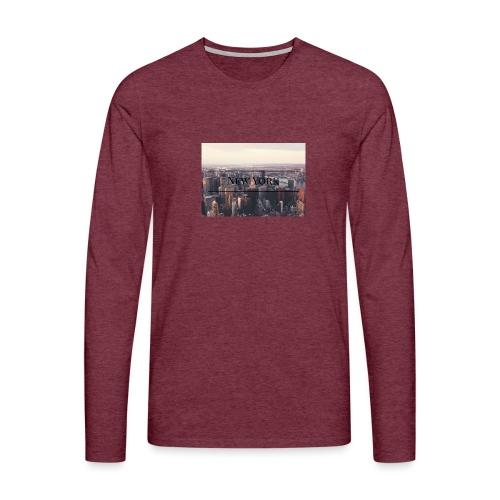 spreadshirt - T-shirt manches longues Premium Homme