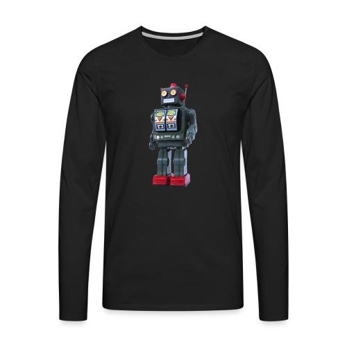 T-Shirt ROBOT - Maglietta Premium a manica lunga da uomo