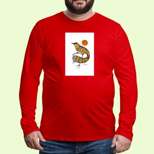 BG - Miesten premium pitkähihainen t-paita