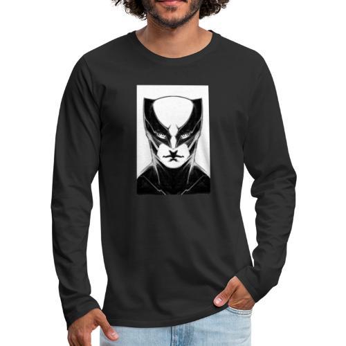 Bat - T-shirt manches longues Premium Homme