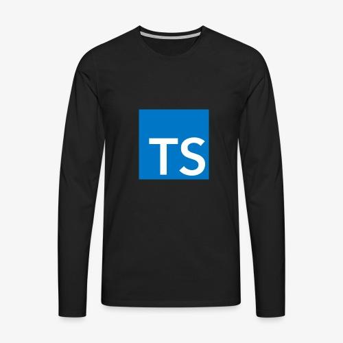 TypeScript Logo - Men's Premium Longsleeve Shirt