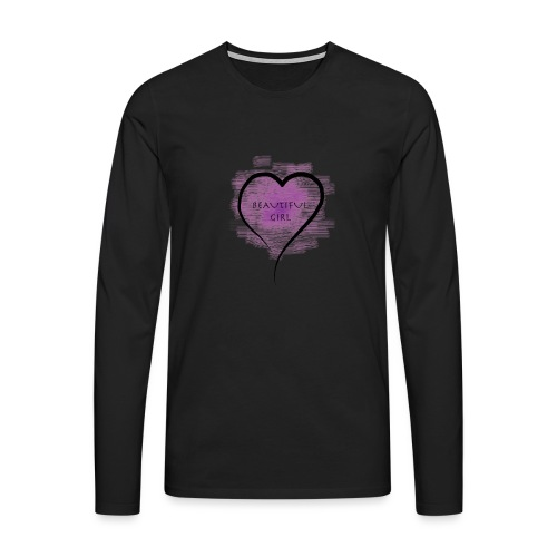 Longsleeves- Beautiful Girl - Männer Premium Langarmshirt