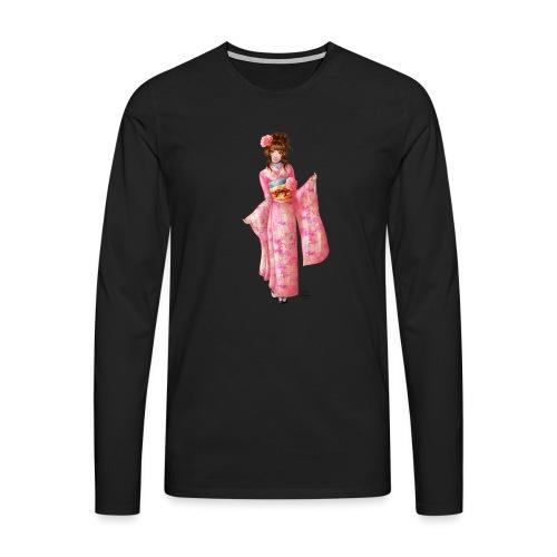 Pink kimono - T-shirt manches longues Premium Homme