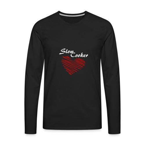 Slow Cooker - Männer Premium Langarmshirt