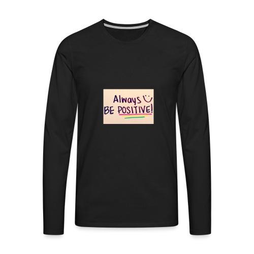Bamse - Herre premium T-shirt med lange ærmer