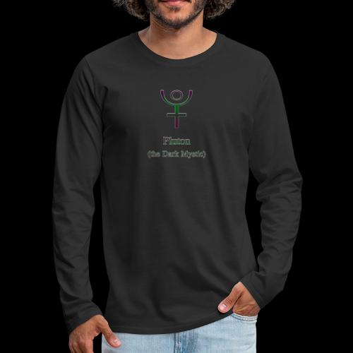 Pluton Logo - Männer Premium Langarmshirt