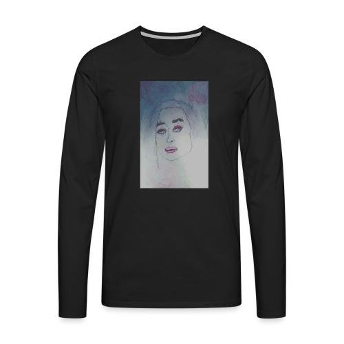 cubismn - Camiseta de manga larga premium hombre