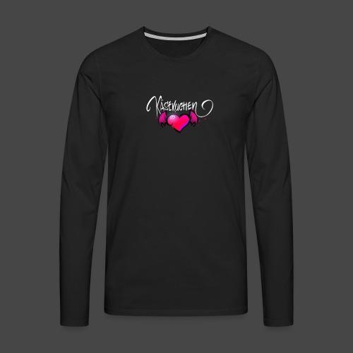 Logo and name - Men's Premium Longsleeve Shirt
