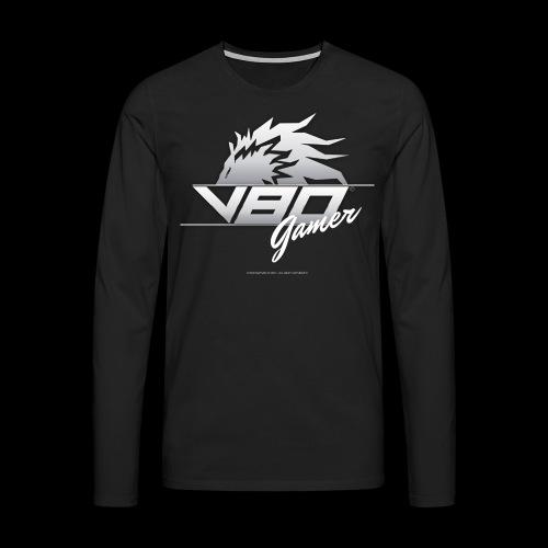 logo lionheartv80 chiaro trasparente - Maglietta Premium a manica lunga da uomo