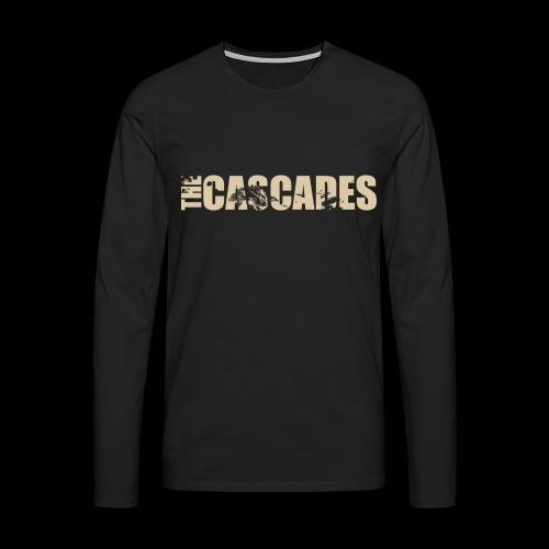 The Cascades logo vintage white - Men's Premium Longsleeve Shirt