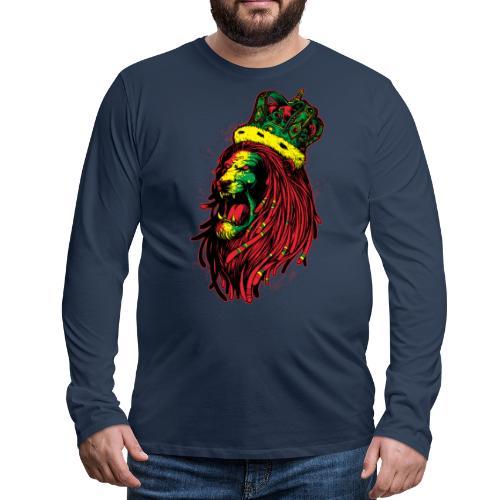 Head Lion Rasta - Miesten premium pitkähihainen t-paita