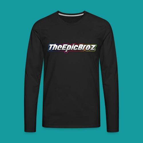 TheEpicBroz - Mannen Premium shirt met lange mouwen