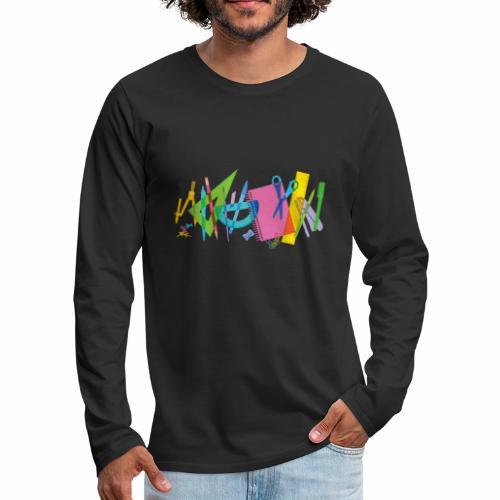 colegio - T-shirt manches longues Premium Homme