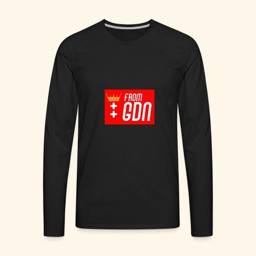 #fromGDN - Koszulka męska Premium z długim rękawem