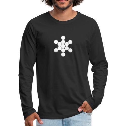 Jack Cirkels - Mannen Premium shirt met lange mouwen