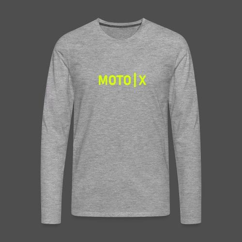 moto x - Männer Premium Langarmshirt
