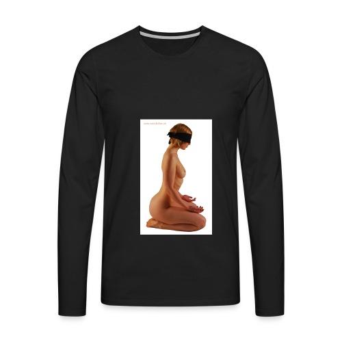 Männer Premium Langarmshirt - BDSM,50 shades of Grex,Geschichte der O
