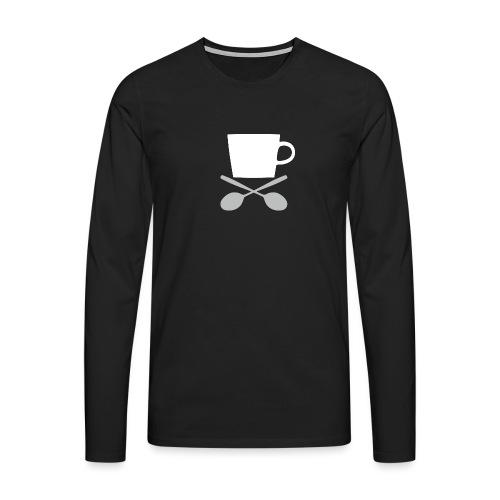 Coffee till I die - Mannen Premium shirt met lange mouwen
