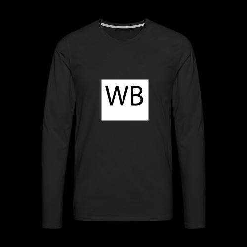 WB Logo - Männer Premium Langarmshirt