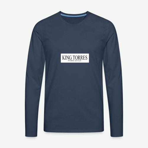 king torres - Camiseta de manga larga premium hombre