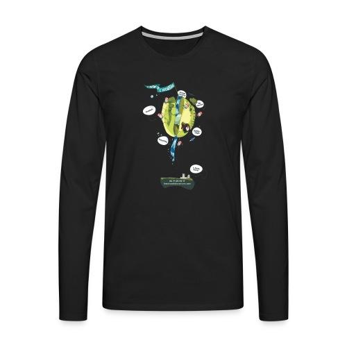 T-shirt Maison de L'aventure - T-shirt manches longues Premium Homme
